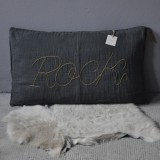 NUMERO 74 - COUSSIN ROCK GRIS ANTHRACITE