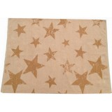 TAPIS VINTAGE STAR MOUTARDE