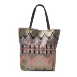 SAC PAILLETTES TRIANGLES PINK - CEANNIS