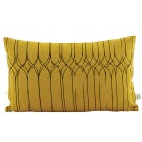 COUSSIN GRAPHIC OLIVE - HOUSE DOCTOR