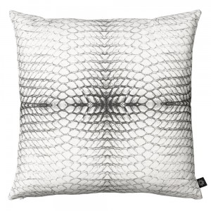 BY NORD -  COUSSIN SERPENT BLANC 50x50CM