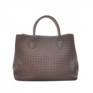 SAC A MAIN TRESSE MARRON - CEANNIS