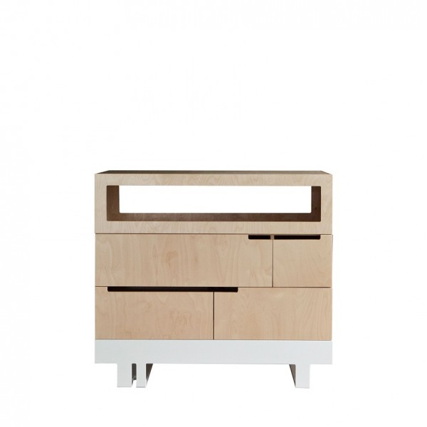 Commode 100x50 cm kutikai the roof collection for Bureau 100x50