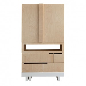 "ARMOIRE 100X50 CM - KUTIKAI ""THE ROOF COLLECTION"""