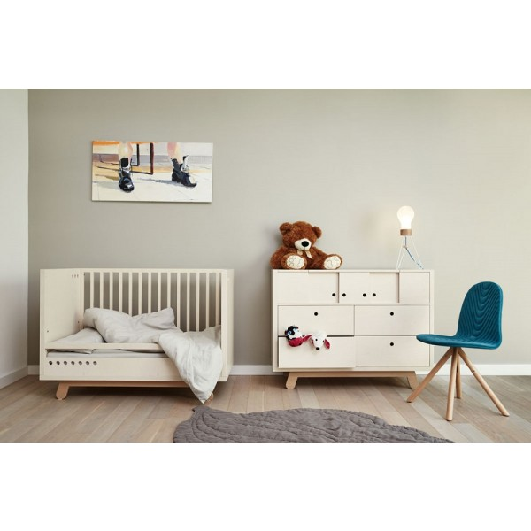 rail securite lit bebe 140x70 cm kutikai the peekaboo. Black Bedroom Furniture Sets. Home Design Ideas
