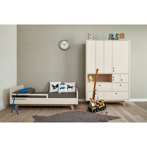 barriere securite lit enfant junior 160x80 cm kutikai the peekaboo collection. Black Bedroom Furniture Sets. Home Design Ideas