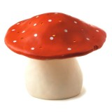 EGMONT TOYS  - LAMPE ENFANT VEILLEUSE CHAMPIGNON ROUGE GRAND MODELE
