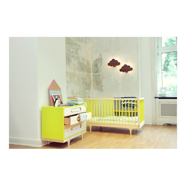commode-bebe-caravan-jaune-kalon-studios, commode enfant design